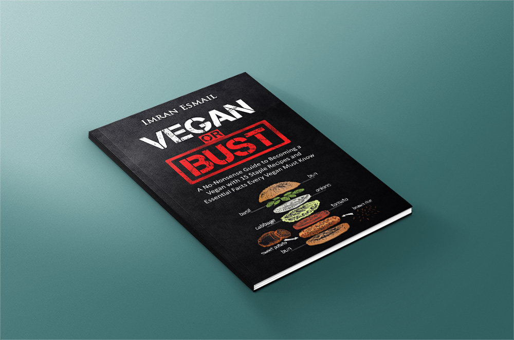 Vegan or Bust Cover Mock