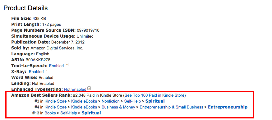 amazon-best-seller-rank-morning-miracle