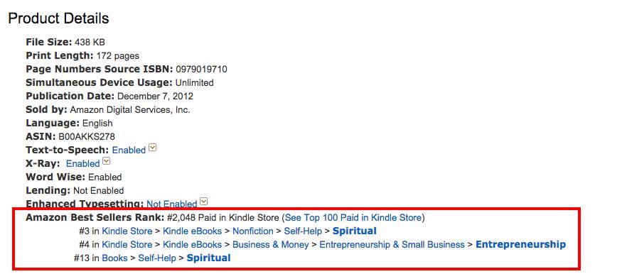 amazon-best-seller-rank-morning-miracle