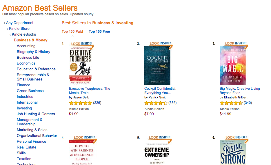 Amazon Best-Seller Rank: Top Authors Collect 76% of All